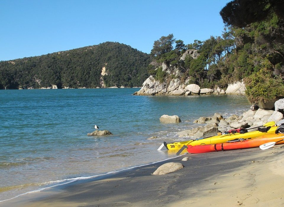 Canoeing In New Zealand North Island
